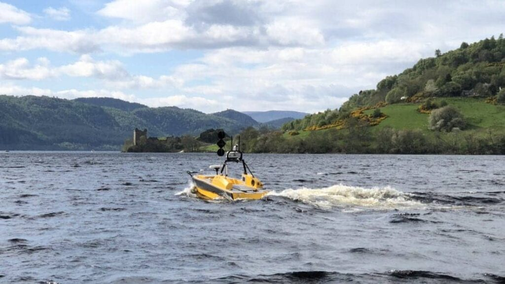 ASV Global USV in Loch Ness