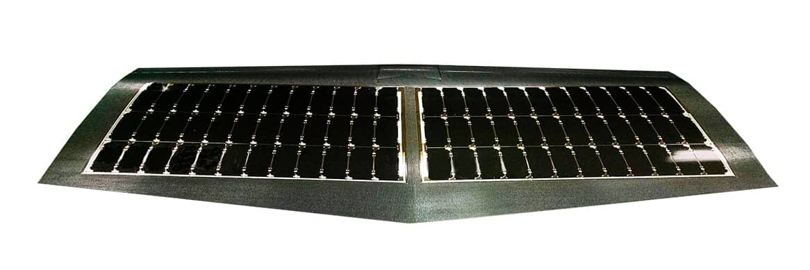 Co-Cured UAV Wing with Solar Cells