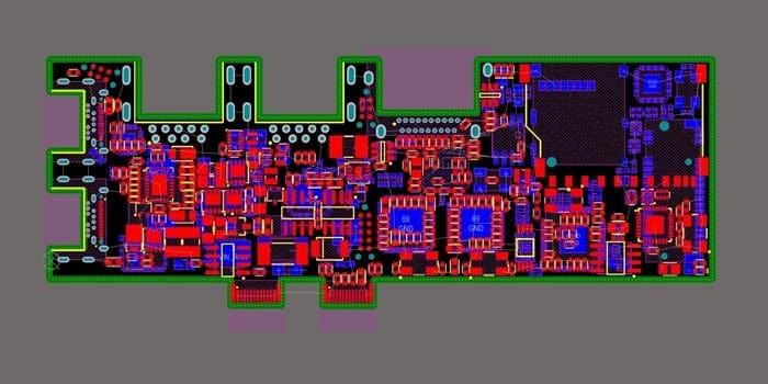 Fine pitch PCB design