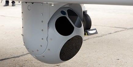IMUs for drone camera stabilization