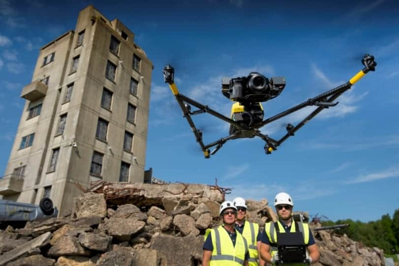 NATS and Sky-Futures drone training course demo