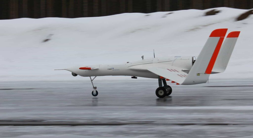 Norwegian emergency response drone