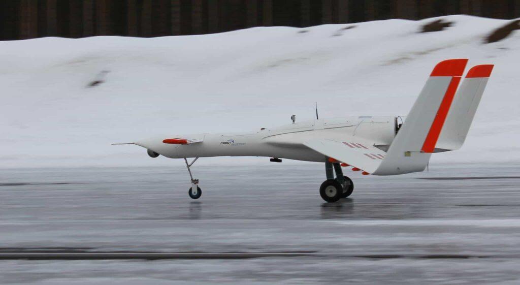 Norwegian emergency response drone