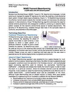 Silvus-Technologies-White-Paper-MIMO-Transmit-Beamforming