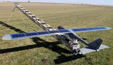 Solar Power for UAVs