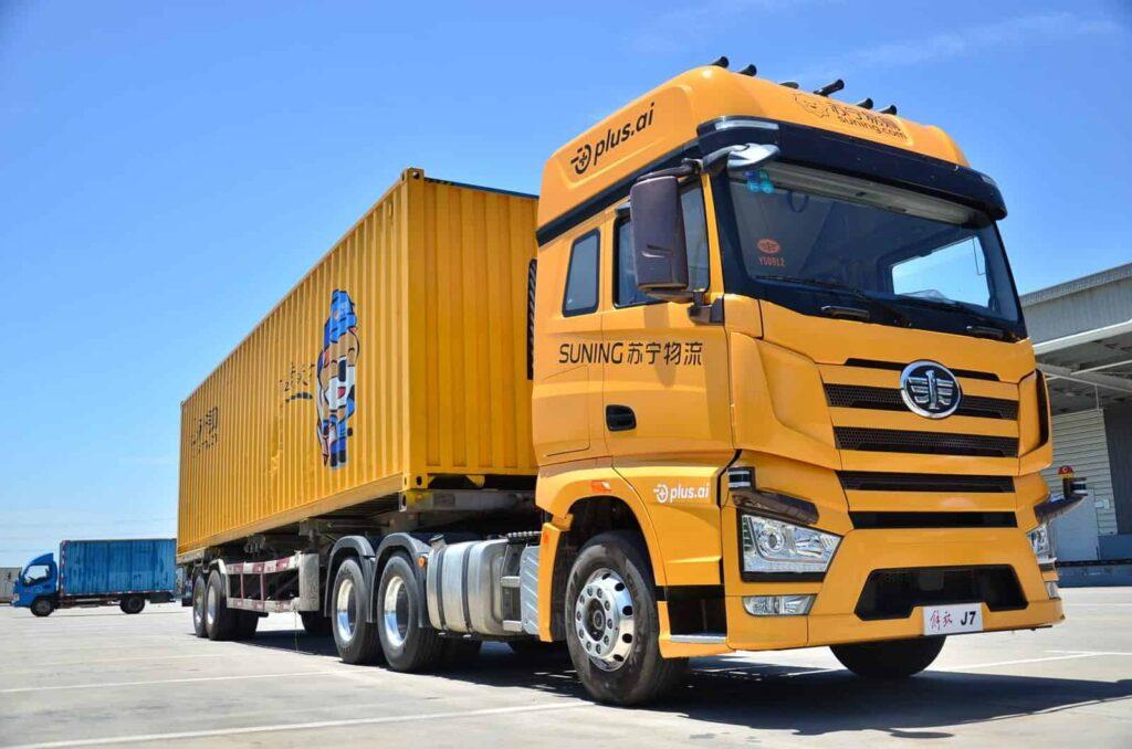 Suning Logistics autonomous truck