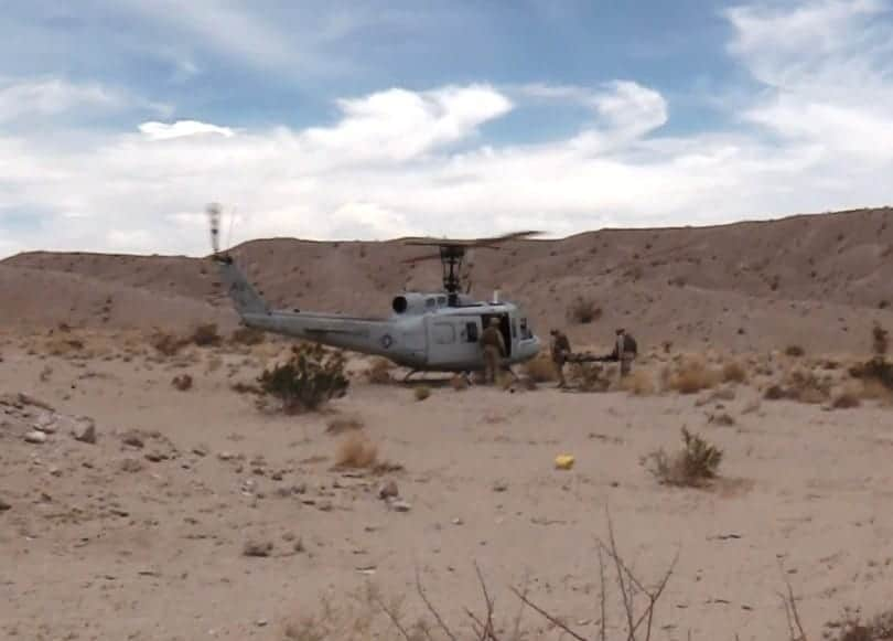 US Marines autonomous helicopter