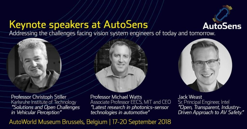AutoSens Brussels - keynotes