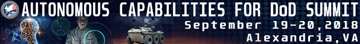 Autonomous Capabilities for DoD Summit