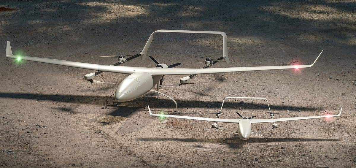 Endurance Commercial VTOL Fixed Wing UAV | Unmanned Systems Technology