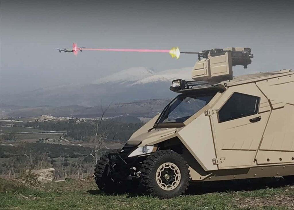 General Robotics Pitbull Counter-Drone Remote Weapon Station