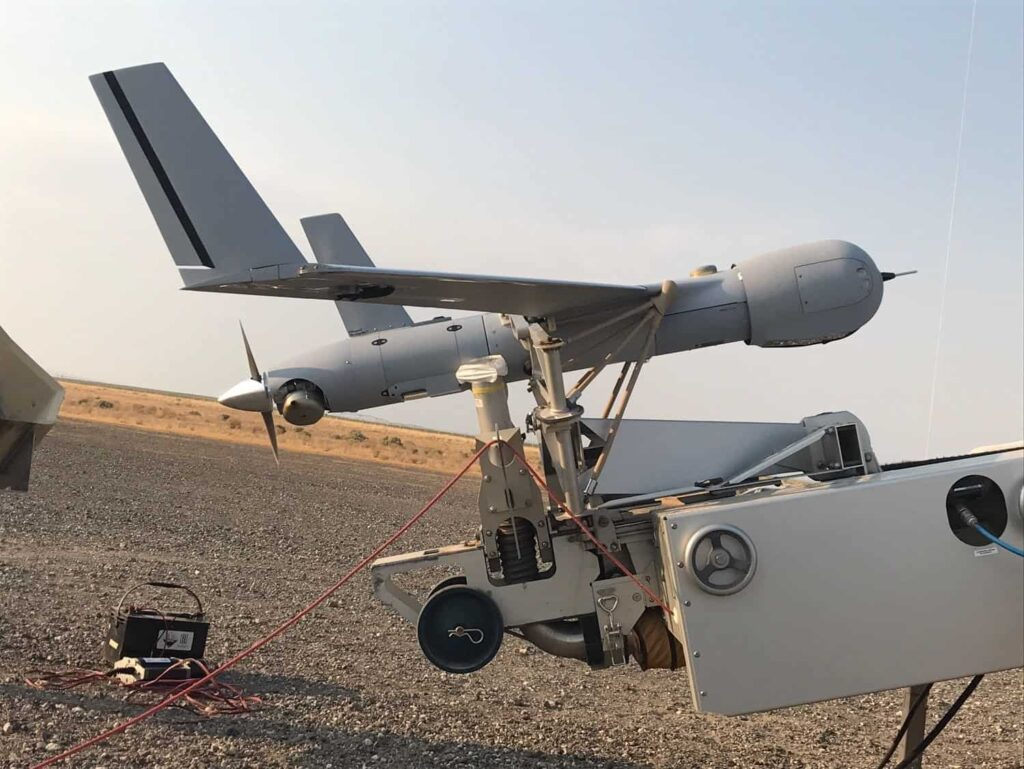 Insitu UAS with Firewatch payload