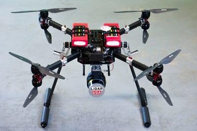 VectorNav INS Selected for UAV LiDAR Mapping System