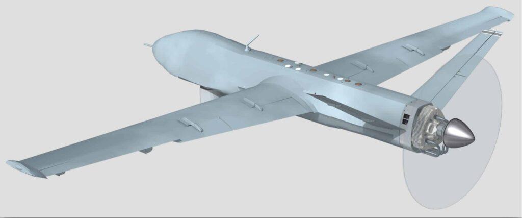 LiquidPiston UAV engine