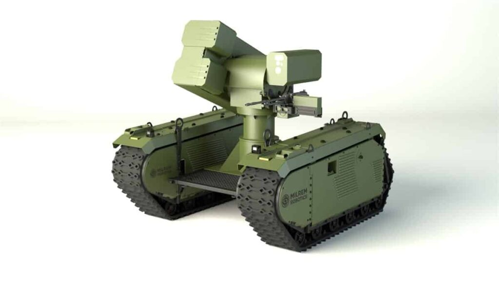MBDA and Milrem anti-tank UGV