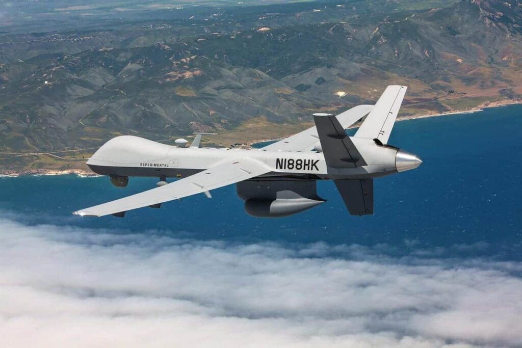 MQ-9B unmanned aircraft