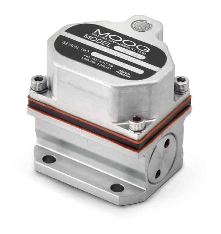 Moog Micro Servo Valve for ROVs