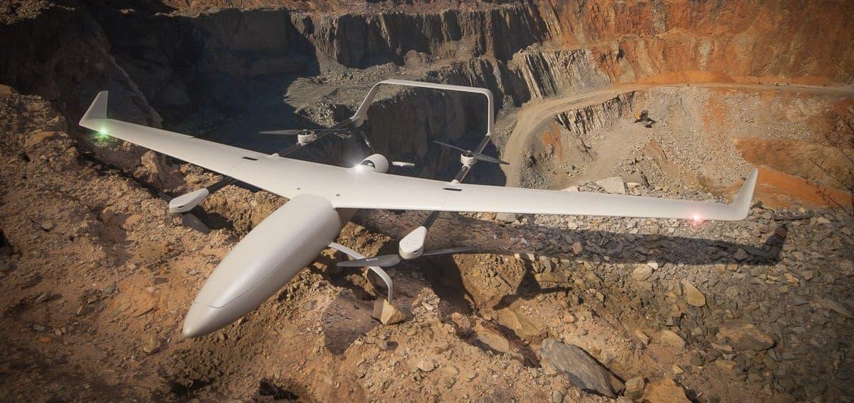 Transition Hybrid VTOL Fixed Wing UAV