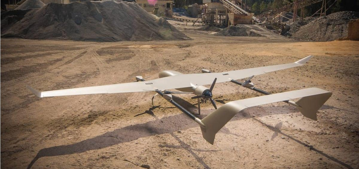 Transition Hybrid VTOL UAV