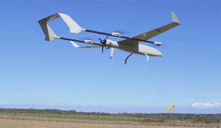 Transition VTOL UAV Endurance Record Flight
