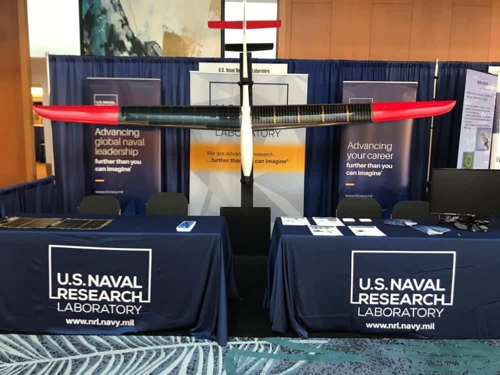 US Naval Research Laboratory solar UAV