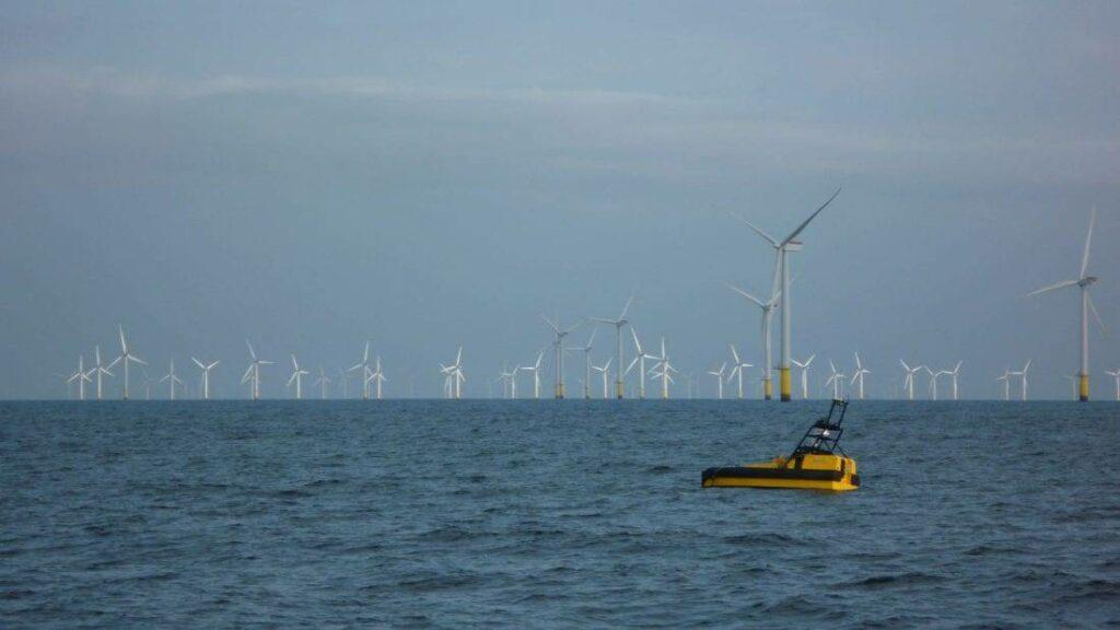 ASV C-WORKER 6 at wind farm