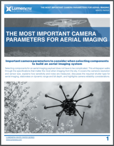 Camera Parameters to Consider for Aerial Imaging