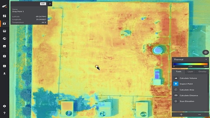 Kespry Drone-Based Thermal Inspection