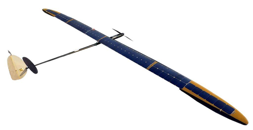 UAVOS solar-powered aircraft