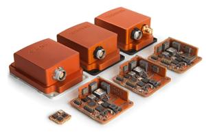Xsens MTi motion trackers for UAVs
