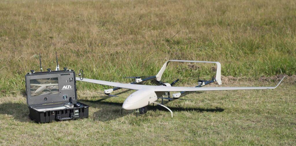 BVLOS VTOL UAV Drone flights