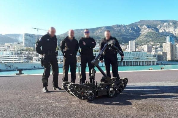 ECA Group UGV in Monaco