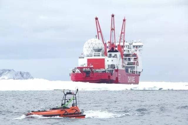 Oceanalpha Antarctic USV