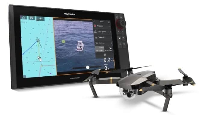 Raymarine Axiom UAV app