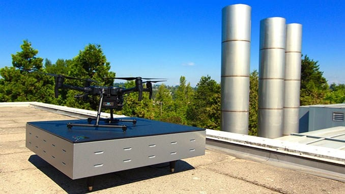 WiBotic charging station for DJI drones