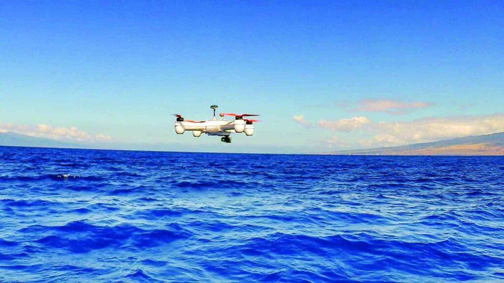 Aerial Alchemy data gathering drone