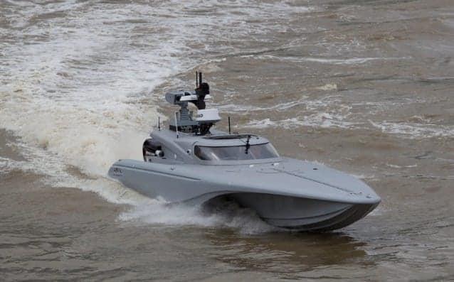 Autonomous unmanned vessel