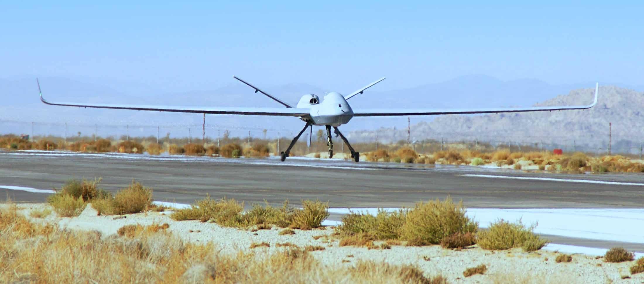 MQ-9 Reaper UAS automated landing