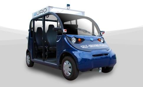 Auro autonomous shuttle