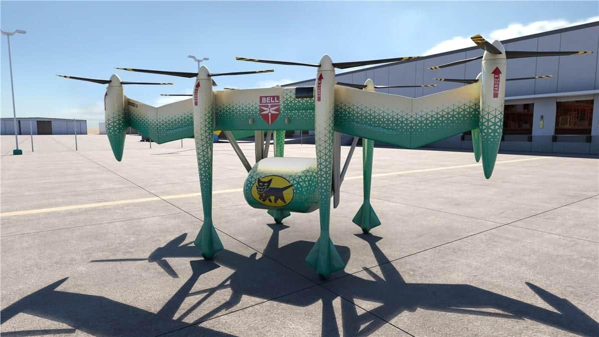 Bell autonomous delivery drone