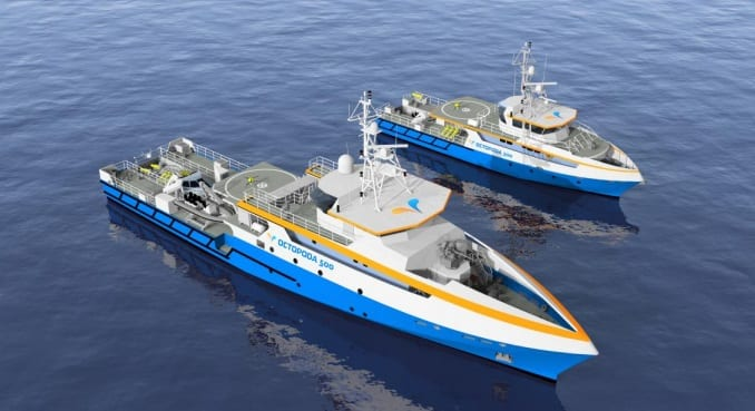 ECA Group OCTOPODA vessels
