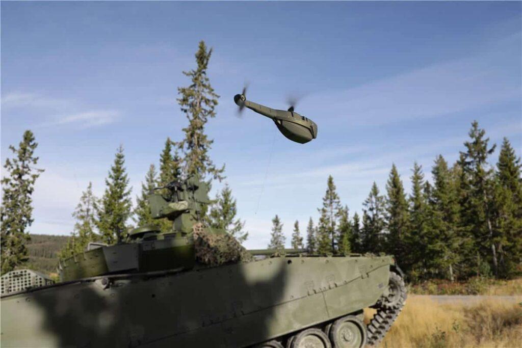 FLIR Black Hornet UAS vehicle reconnaissance system