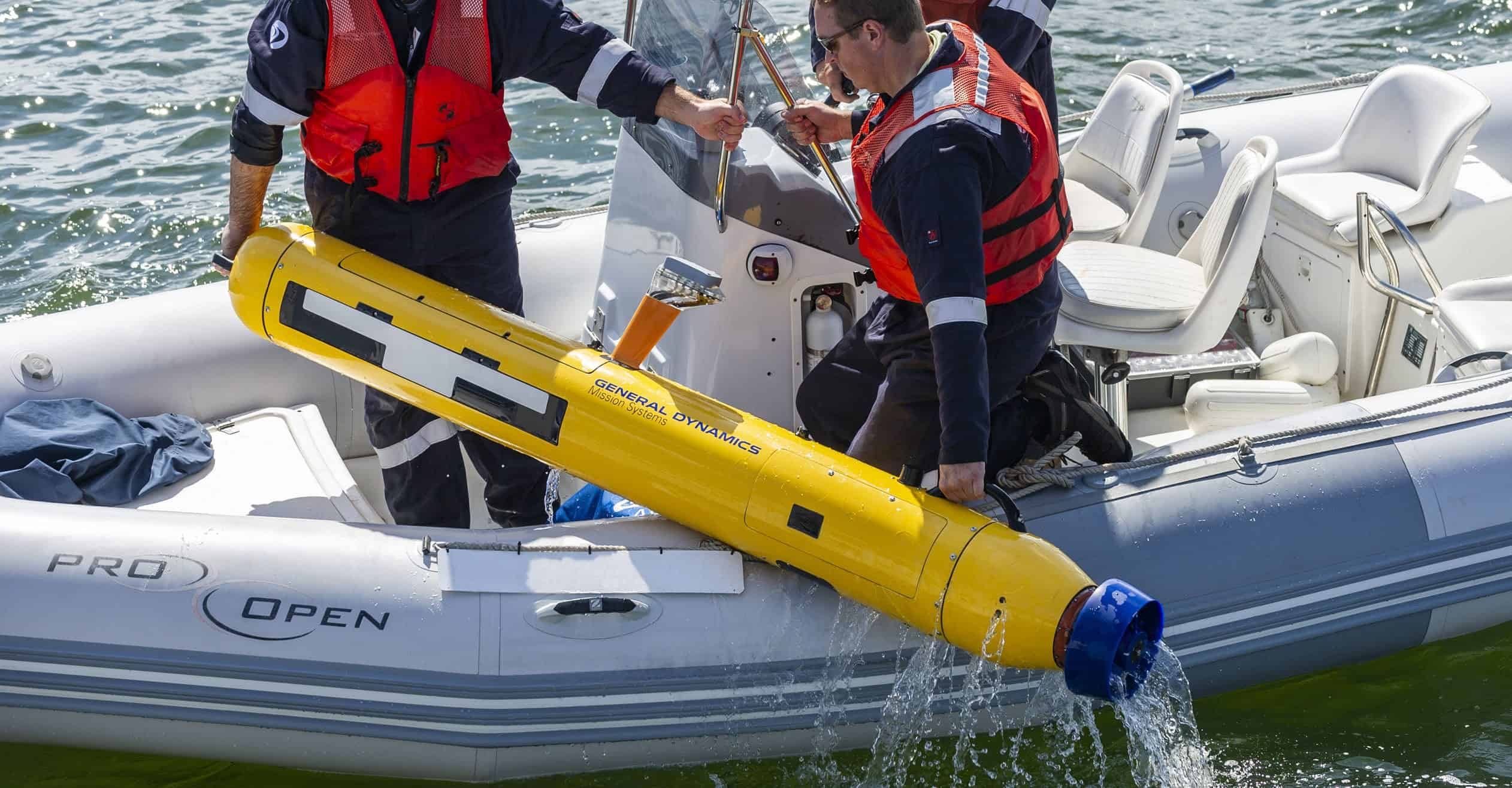 Commercial Vehicle Definition >> GDMS Launches Redesigned Bluefin-9 AUV | Unmanned Systems Technology