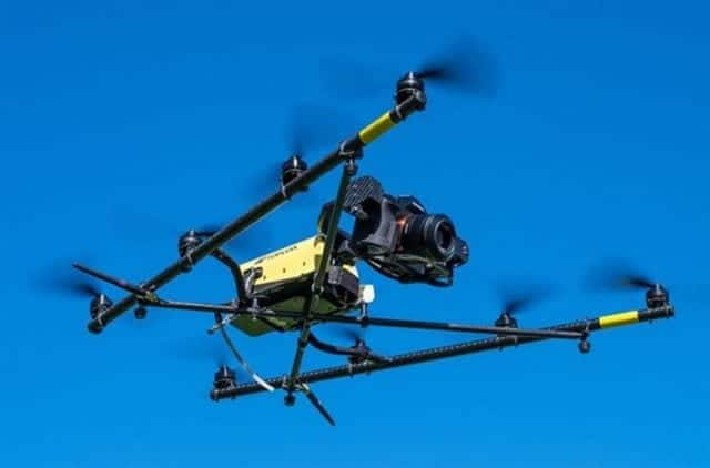 Infrastructure inspection drone