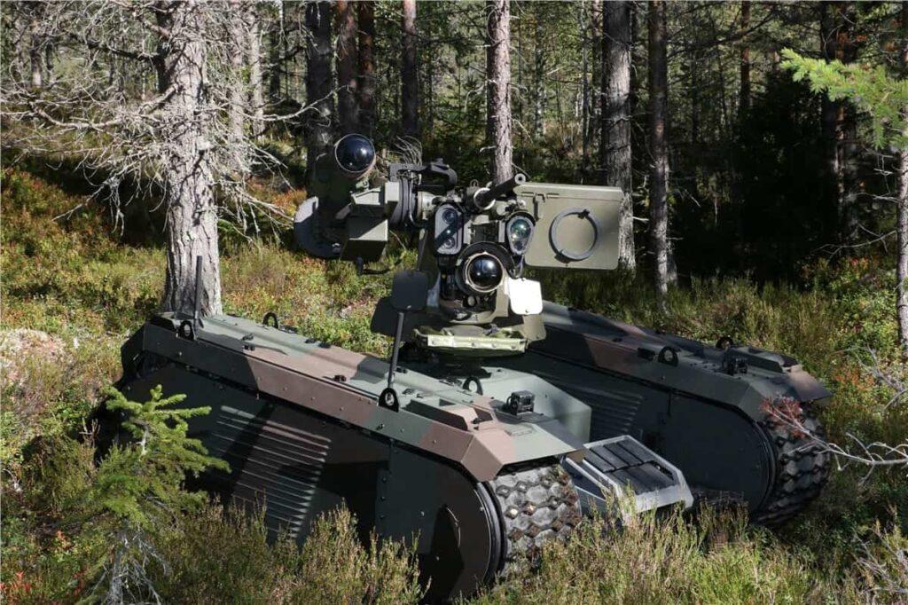 Kongsberg and Milrem Showcase Antitank UGV | Unmanned