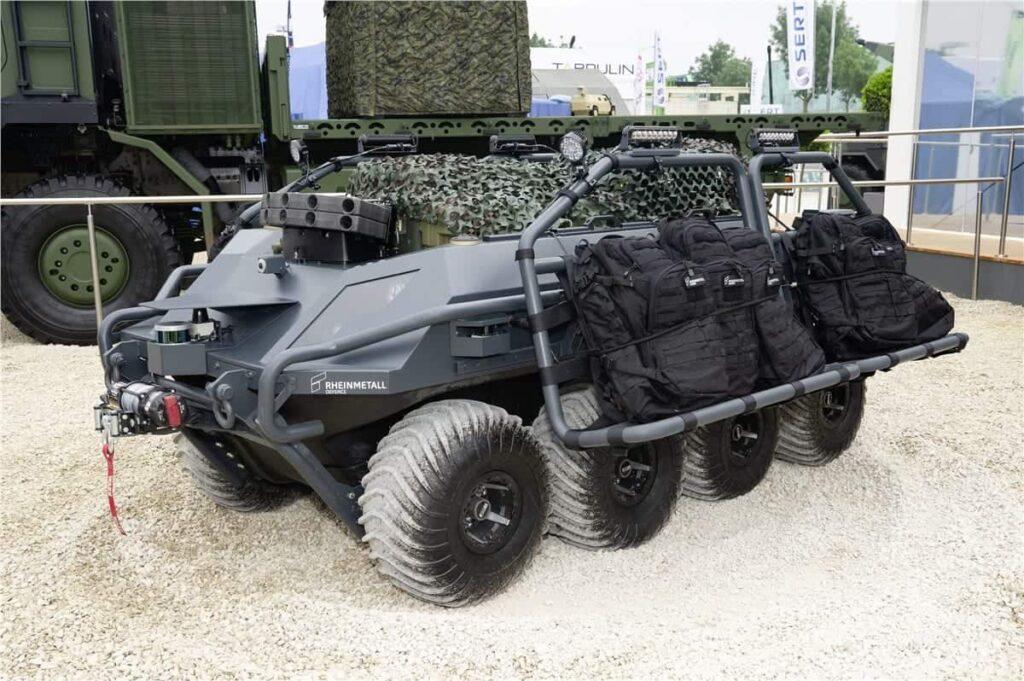 Rheinmetall Mission Master UGV