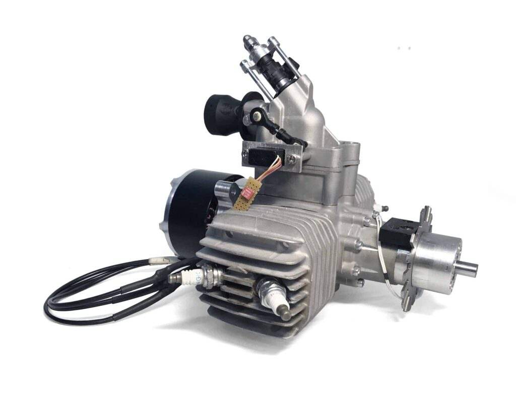 SP-110 FI TS 2-cylinder gas UAV engine