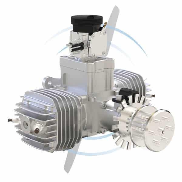 SP-110 TS Twin Spark 2-Cylinder UAV Engine