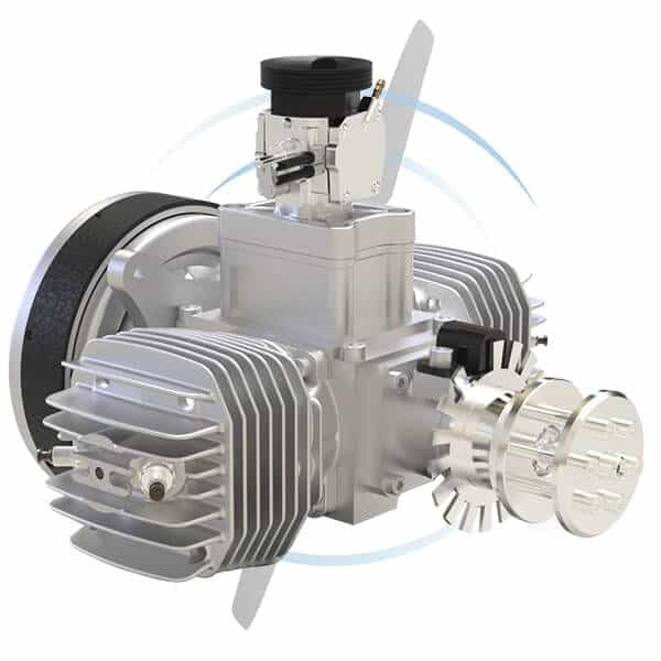 SP-170 TS 2-cylinder drone engine