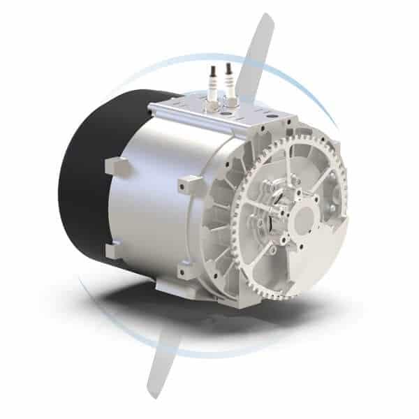 SP-180 SRE hybrid Wankel UAV engine
